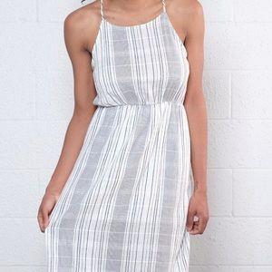 Every Striped Midi dress